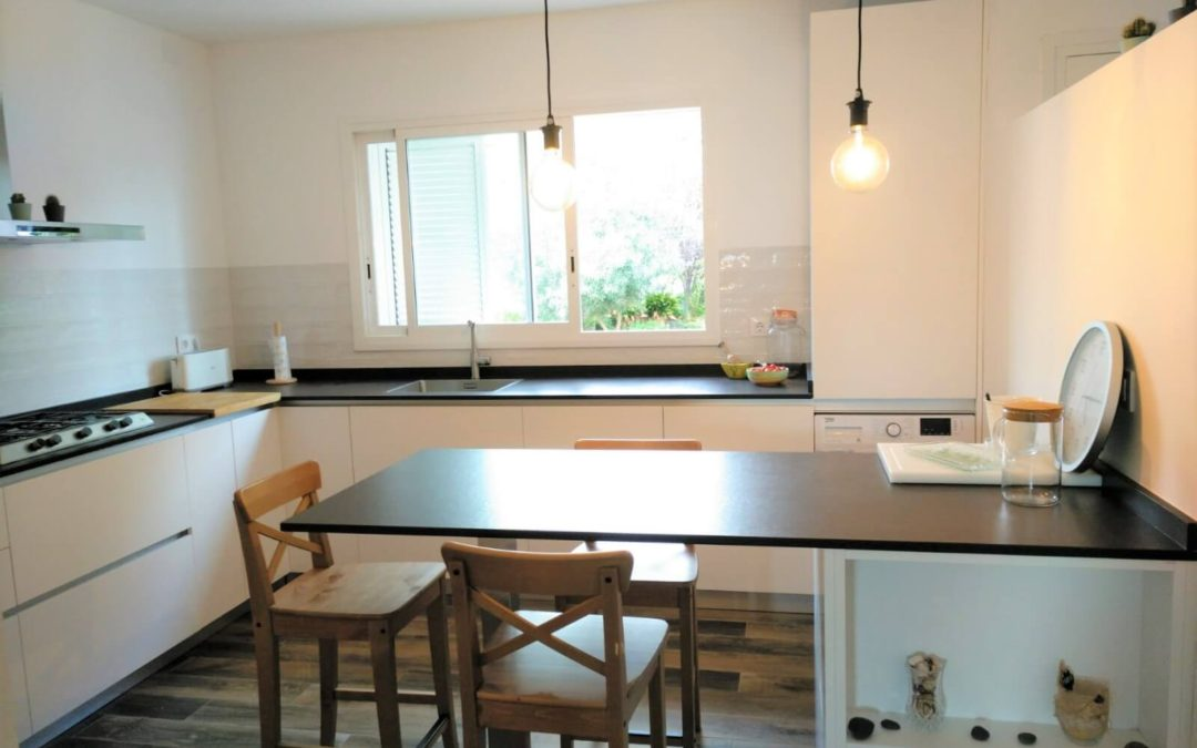 A comprehensive reform of the kitchen in vintage style